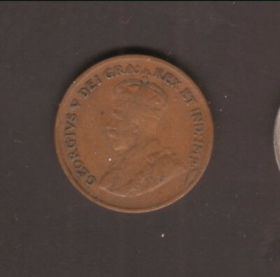 Canada--1927--1 Cent--King George V