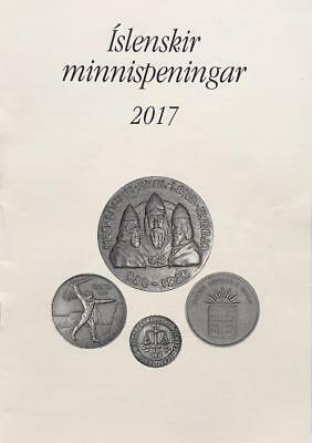 2017 Priced Catalogue of all ICELANDIC MEDALS Iceland
