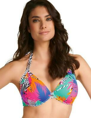 Freya Flashdance Triangle Non Padded Halter Bikini Top 3521 SALE SAVE 70%