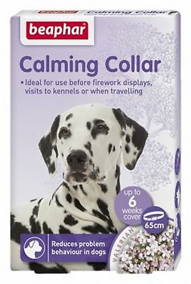 Beaphar Calming Collar for Dogs Reduces Stress Anxiety