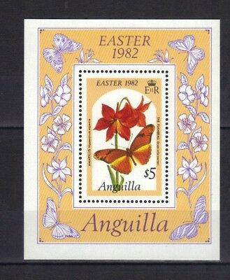 Anguilla. Easter Mini Sheet 1982 Mnh