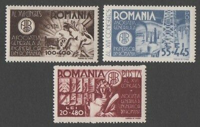 Romania. 1945 Congress of The General Association of Engineers in Romania. MLH