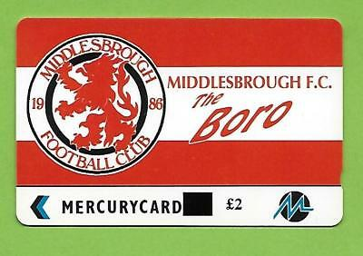 Uk - Mercury / Paylelco - Pyf 036A - Middlesbrough  - Overprint
