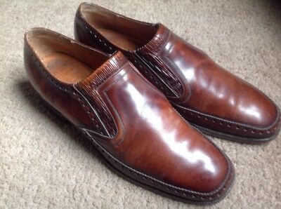Vintage English Brown leather shoes size 7