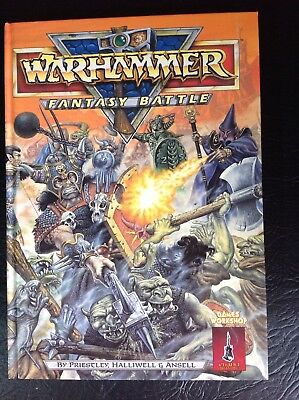 Warhammer Fantasy Vintage 80's 3rd Edition Rule Book Excellent Condition