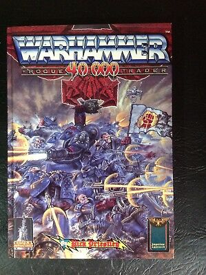 Warhammer 40k Vintage 80's 1st Edition Rogue Trader RuleBook Excellent Condition