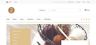 ARTS AND CRAFTS STORE - Make BIG Money with Dropship Website