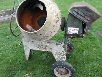 Little Benford Cement Mixer With Petrol Villiers Engine vintage