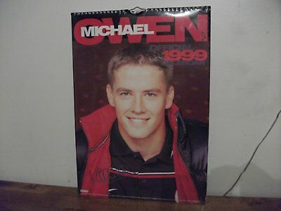 Michael Owen Calendar 1999  (New)