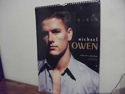 Michaal Owen Calendar 2000 (New)