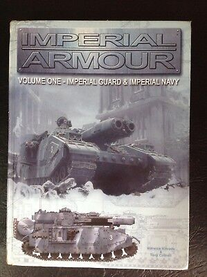 Warhammer 40k Hardback Volume 1 Imperial Armour Forgeworld Book