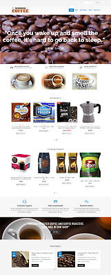 COFFEE Website Business for sale - Turnkey Business - Online Home business sale