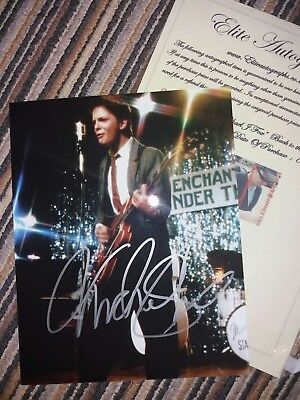 Michael J Fox signed photo / Back to the Future Marty McFly