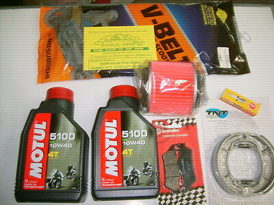 Replacement Kit Motul 5100 10W-40 Complete Majesty 125/150 Year 98-00