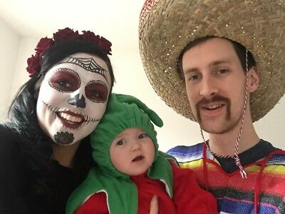 Halloween Family Costume Mexican