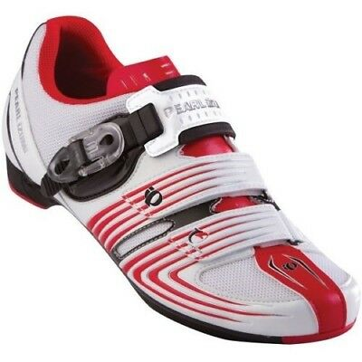 Mens Pearl Izumi Road Race 2 Cycling Shoes Red/white  Eu 45 Uk 10 Spd Compatible