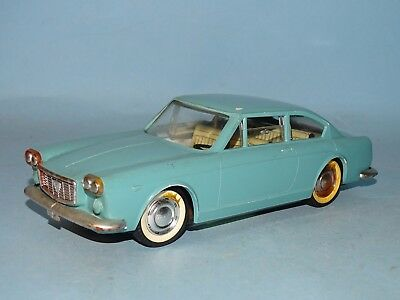 1960's Lancia Flavia Coupe Plastic Friction Toy Marc Toys Italy