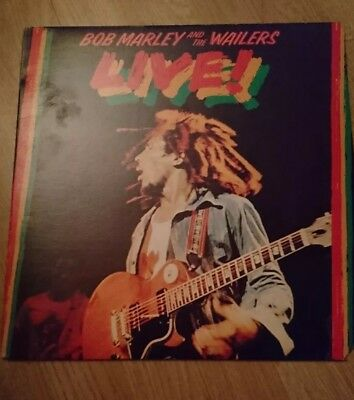 Vinyl LP Bob Marley and the Wailers. LIVE.