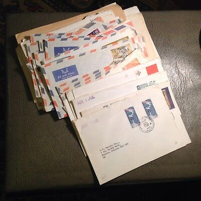 54 Malta First Day Covers to UK inc. Airmails