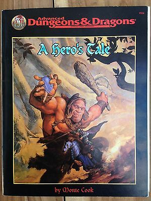 'A Hero's Tale' - 9 short modules for AD&D, by Monte Cook. TSR 1996