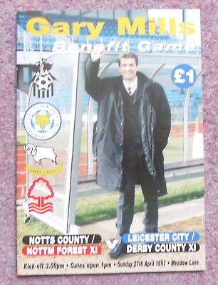 Notts County/Forest v Leicester/Derby County, Gary Mills Testimonial 27-04-97