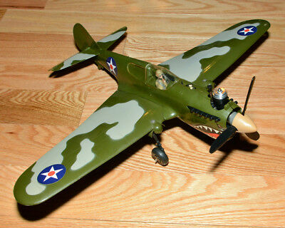 Cox Thimble Drome P-40 Warhawk Flying Tiger Ready to fly Model Airplane