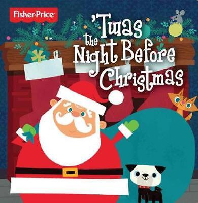 Twas the Night Before Christmas Board Books Book Free Shipping!