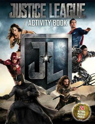 DC Comics: Justice League Activity Book Paperback Book Free Shipping!