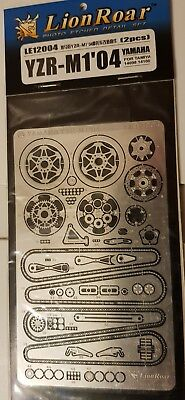 Lion Roar photo etched LE12004 For Tamiya Yzr M1 2004