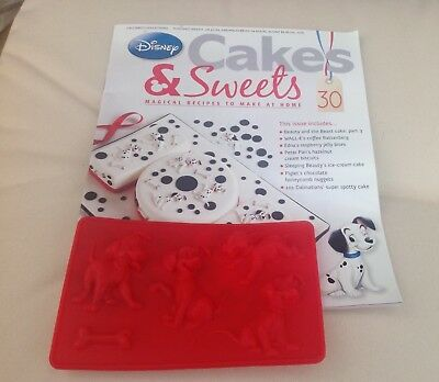 Disney Cakes and Sweets no.30 - including 101 Dalmations Silicone Mould