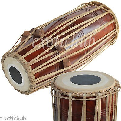 Mridangam-Mridanga Drum~North Indian~Shesham Wood~Kirtan~Bhajan~Ragi~Puja~Mantra