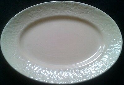 Clarice Cliff Newport Pottery Co Oval  Mustard Yellow Serving Plate 12 ¾ inch