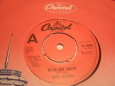 "Bob Seger - We""ve Got Tonite  Cluk 1978"