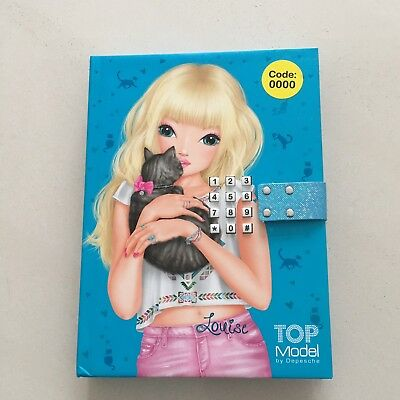 TOP MODEL Secret Diary With Music - Code 0000 - 'LOUISE' Brand New!!!