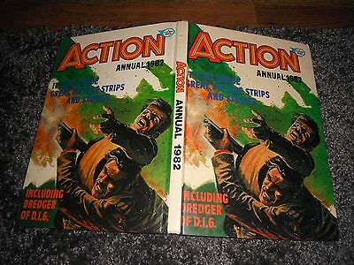 Action 1982 Annual The Smugglers Human Bombs Rough Justice Captain Patchete