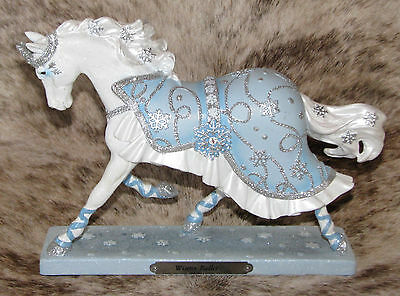 TRAIL OF PAINTED PONIES Winter Ballet~1E/1538~Glitter~Snowflakes~Christmas 2017~
