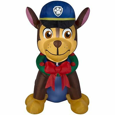 PAW Patrol 6.5' Inflatable Chase with Wreath
