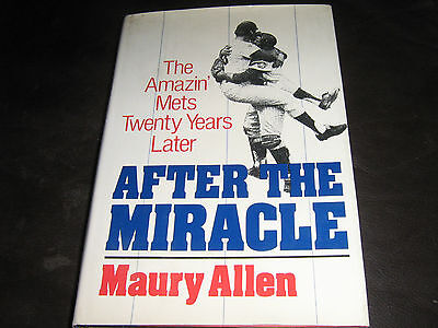 New York Mets Baseball Book 'after The Miracle'  Published 1989 By Maury Allen