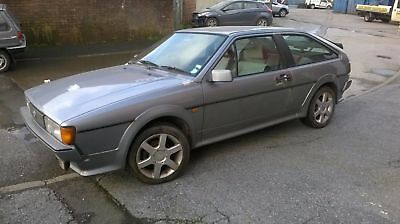Rare VW Mk2 Scirocco Scala project spares or repair. Runs and drives Barn find