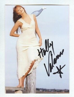 """HOLLY VALANCE Actress (Neighbours/Prison Break) Signed 7"""" x 4"""" Photograph + COA"""