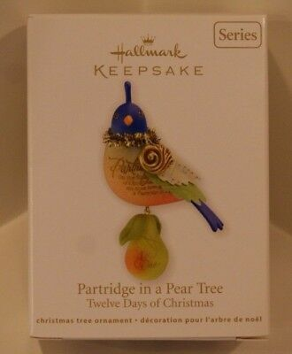 2011 Hallmark Twelve 12 Days of Christmas Partridge in a Pear Tree 1st in Series