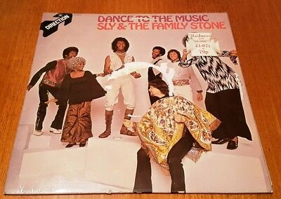 Sly & The Family Stone Vinyl Lp Dance To The Music F/ex Soul Direction S 8-6412