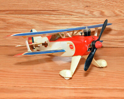 Cox .020 Pitts Red Baron Pennzoil Bi-plane Ready to Fly Model Airplane