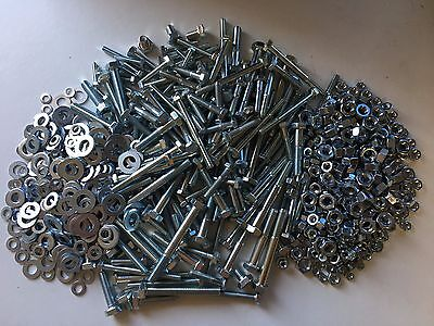 400 Pc Assorted Metric Nut and Bolt, Set Screws & Washer Pack.