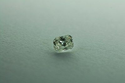 Lose natürliche(clarity enhanced) Diamant Radiant 5.02 ct P3/Gray Green GROSS!!