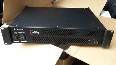 E 800 Thomann Amp - 2 x 500W   (Amplifier, Watts RMS, Speakon, Rack mount)