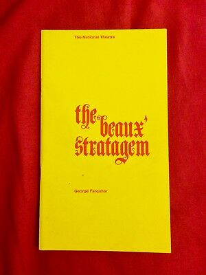 The Beaux' Stratagem - National Theatre at the Old Vic Programme