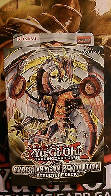Yu-Gi-Oh! Cyber Dragon Revolution 1st Edition Structure Deck - TOP