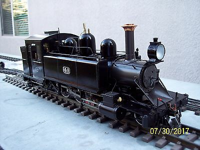 Limited Run Argyle - Accucraft 16Mm Scale Butane Fired Live Steam Locomotive