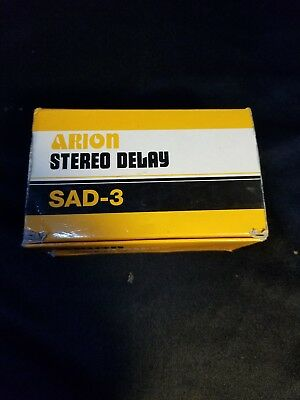 Arion Sad-3 Stereo Delay pedal vintage analog